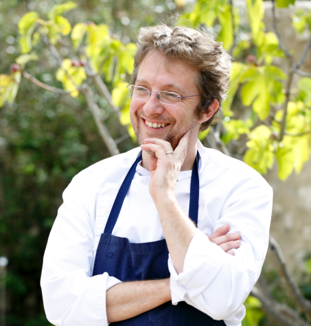 Le Chef étoilé Christophe Martin